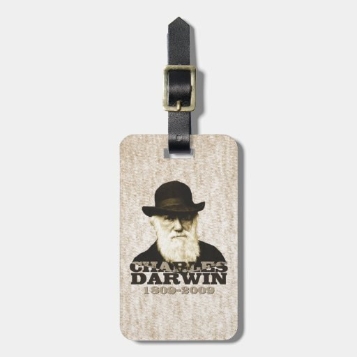 Charles Darwin Bicentennial Tag For Bags