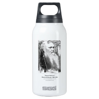 Charles Darwin Caricature 1873 Thermos Bottle