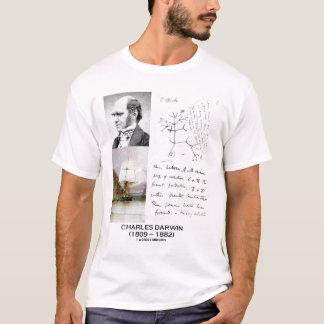Charles Darwin Collage T-Shirt