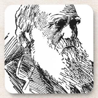 Charles Darwin Drink Coaster