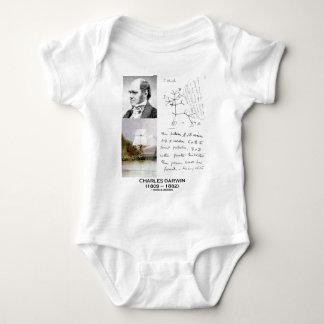 Charles Darwin (Darwin HMS Beagle Phylogenetics) Baby Bodysuit