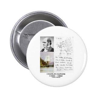 Charles Darwin Darwin HMS Beagle Phylogenetics Pin