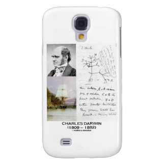 Charles Darwin (Darwin HMS Beagle Phylogenetics) Samsung Galaxy S4 Case