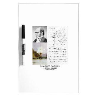 Charles Darwin (Darwin HMS Beagle Phylogenetics) Dry-Erase Whiteboard