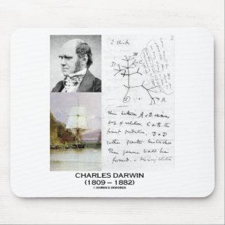 Charles Darwin (Darwin HMS Beagle Phylogenetics) Mousepads