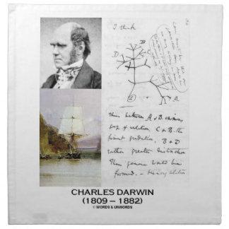 Charles Darwin (Darwin HMS Beagle Phylogenetics) Napkin