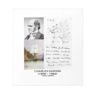 Charles Darwin (Darwin HMS Beagle Phylogenetics) Notepad