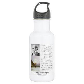 Charles Darwin (Darwin HMS Beagle Phylogenetics) 18oz Water Bottle