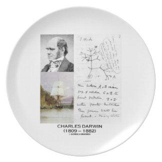 Charles Darwin (Darwin HMS Beagle Phylogenetics) Plate