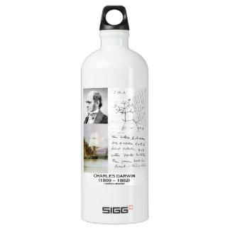 Charles Darwin (Darwin HMS Beagle Phylogenetics) SIGG Traveler 1.0L Water Bottle