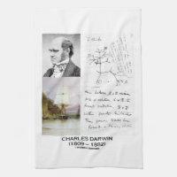 Charles Darwin (Darwin HMS Beagle Phylogenetics) Towel