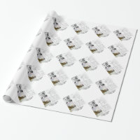 Charles Darwin (Darwin HMS Beagle Phylogenetics) Wrapping Paper