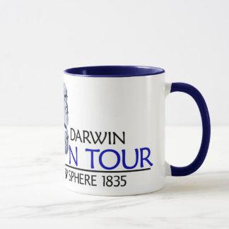 Charles Darwin 'Evolution Tour' (Mug/Stein) Mug
