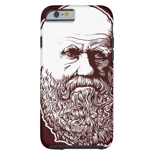 Charles Darwin Funda De iPhone 6 Tough