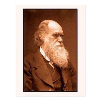 Charles Darwin hacia 1874 Postales