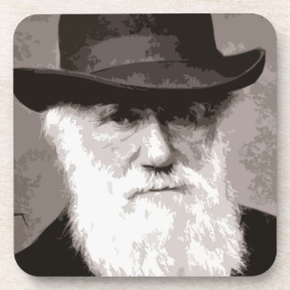 Charles Darwin in 1880, as an old gentleman Coasters