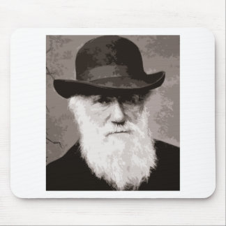 Charles Darwin in 1880, as an old gentleman Mouse Pad