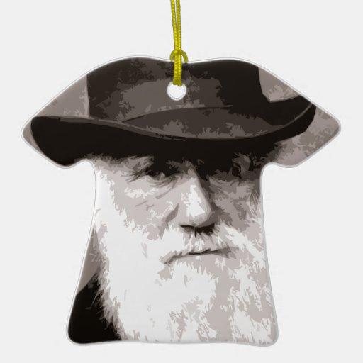 Charles Darwin in 1880, as an old gentleman Christmas Tree Ornaments