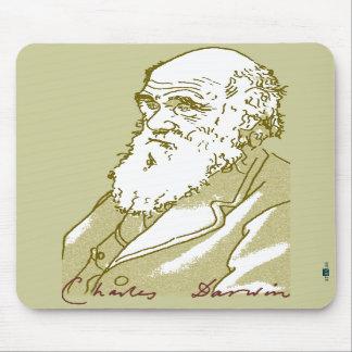 Charles Darwin, mousepad