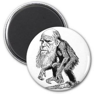 Charles Darwin Original Illustration Magnet