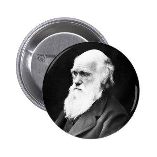 Charles Darwin Pin Redondo De 2 Pulgadas