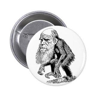 Charles Darwin Pinback Button