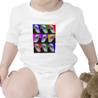 Charles Darwin Pop Art Gifts for All Ages T-shirt
