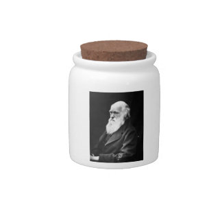 Charles Darwin Portrait Candy Dishes