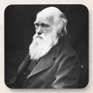 Charles Darwin Portrait Beverage Coaster