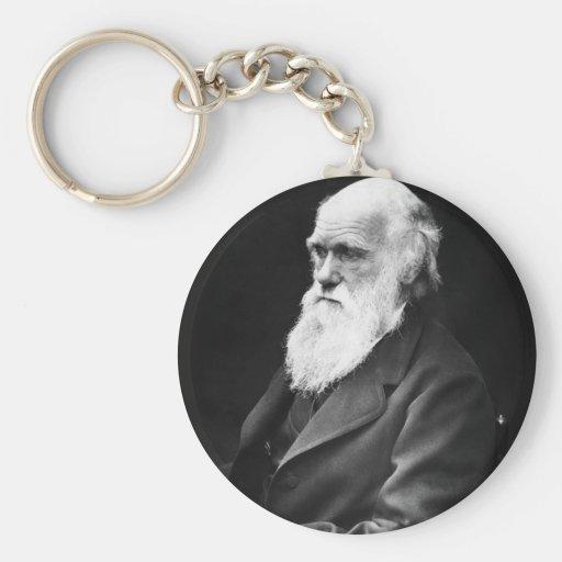Charles Darwin Portrait Key Chains