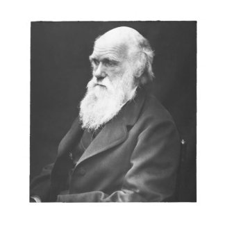 Charles Darwin Portrait Notepad