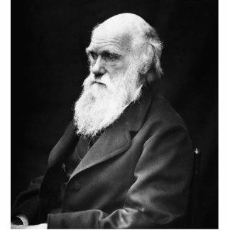 Charles Darwin Portrait Standing Photo Sculpture