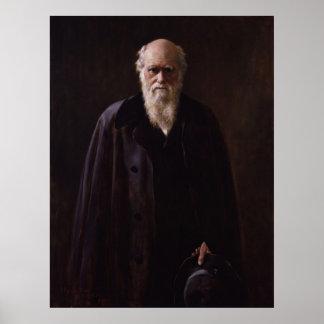 Charles Darwin Póster