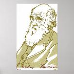 Charles Darwin, poster Póster