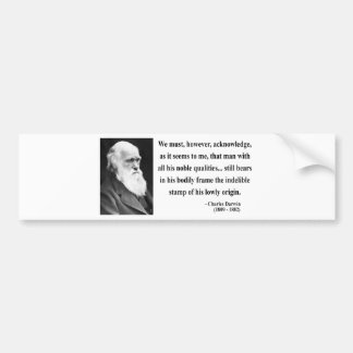 Charles Darwin Quote 1b Bumper Sticker