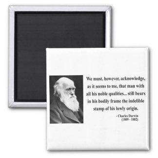 Charles Darwin Quote 1b Fridge Magnet