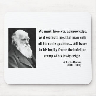 Charles Darwin Quote 1b Mouse Pad