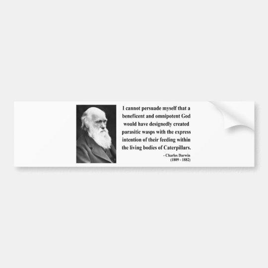 Charles Darwin Quote 2b Bumper Sticker