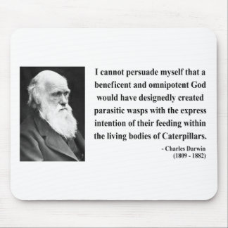 Charles Darwin Quote 2b Mouse Pad