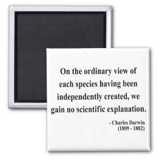 Charles Darwin Quote 3a Fridge Magnets
