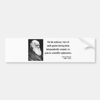 Charles Darwin Quote 3b Bumper Stickers