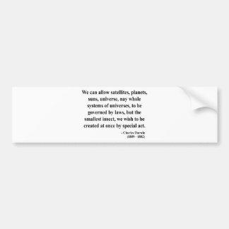 Charles Darwin Quote 4a Bumper Sticker