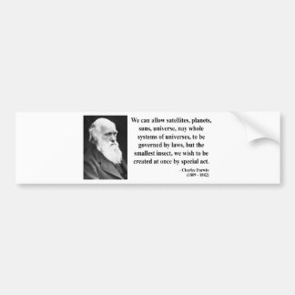 Charles Darwin Quote 4b Bumper Sticker
