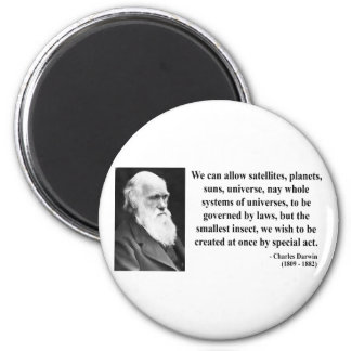 Charles Darwin Quote 4b Fridge Magnets