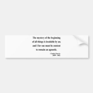 Charles Darwin Quote 5a Bumper Stickers