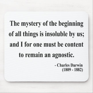 Charles Darwin Quote 5a Mouse Pad