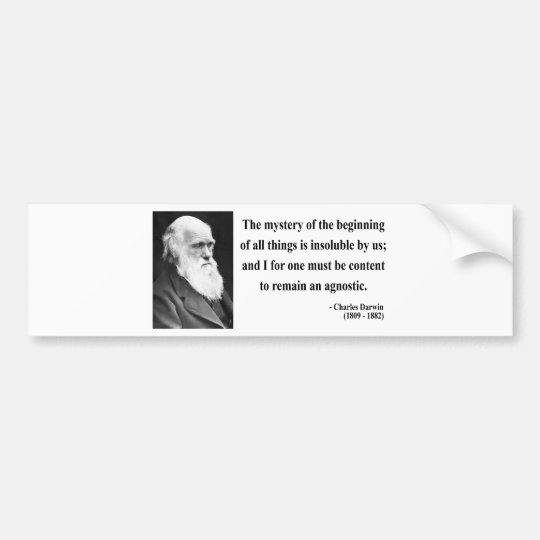 Charles Darwin Quote 5b Bumper Sticker