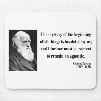 Charles Darwin Quote 5b Mouse Pad
