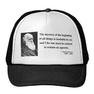 Charles Darwin Quote 5b Trucker Hat