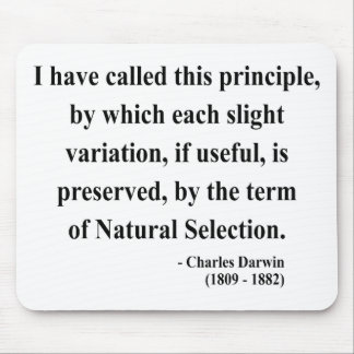 Charles Darwin Quote 6a Mouse Pad